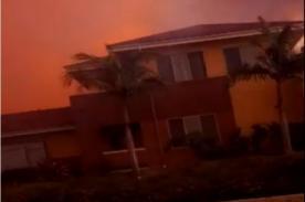 Autopista de California se convierte en verdadero infierno - Video