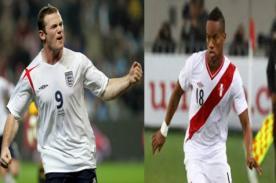 Amistoso Perú vs Inglaterra: Así formarán ambos equipos