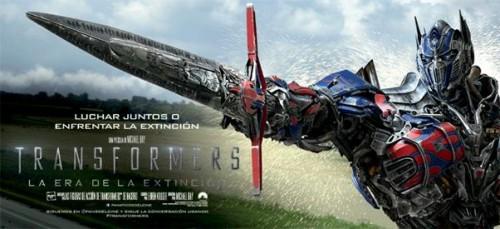 Estreno Transformers 4: ¿Optimus Prime en Lima?