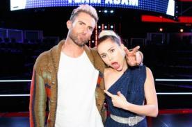 ¿Adam Levine no soporta a Miley Cyrus?