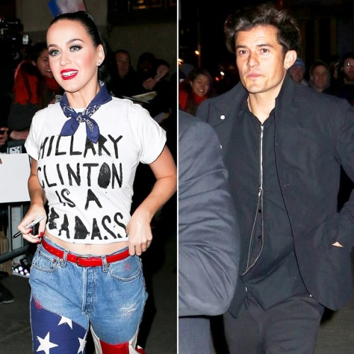¡Katy Perry y Orlando Bloom juntos en Coachella 2016!