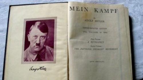Libro de Adolf Hitler será vendido