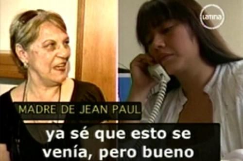Madre de Jean Paul Santa María desconsolada por ampay con Lucía Oxenford