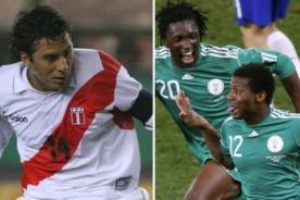 Fútbol peruano: Perú jugará con los extranjeros amistoso ante Nigeria