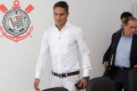 Paolo Guerrero firmó tres años por el Corinthians de Brasil