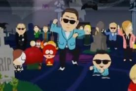 South Park se une a la fiebre del Gangnam Style - Video