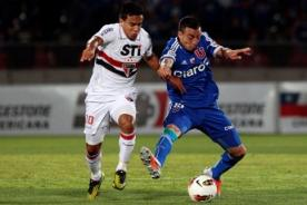 Goles del Sao Paulo vs U. de Chile (5-0) - Copa Sudamericana - Video