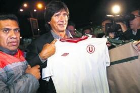 Fútbol Peruano: Ángel Comizzo llegó para dirigir a Universitario - Video