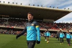 Video: Barcelona realizó entrenamiento con 14 mil hinchas - Liga Española