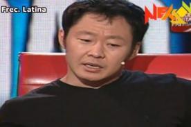 VIDEO: Kenji Fujimori se quiebra al recordar prisión de su padre