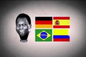 Video: Colombia realiza campaña en contra de Pelé – Mundial Brasil 2014