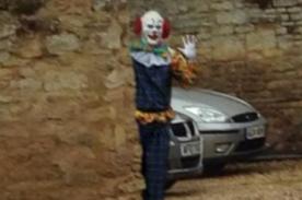 ¡Qué miedo! Hombre disfrazado de payaso causa pánico en Londres - Fotos