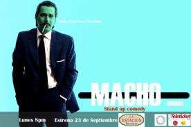 Juan Francisco Escobar presenta 'Macho' en La Estación de Barranco