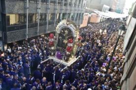 Señor de los Milagros: Recorrido de la procesión inicia mañana