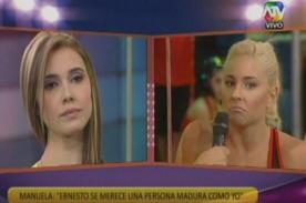 Combate: Manuela y Yamila vuelven a discutir en vivo - Video