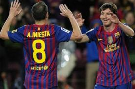 Andres Iniesta: Si Messi gana el Balón de Oro sería el triunfo de todos