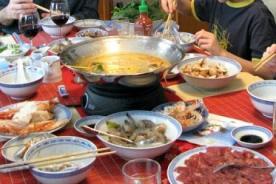 Comida tradicional para dar la bienvenida al Año Nuevo Chino 2014