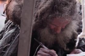 Raimundo Arruta, el poeta indigente que conmovió redes sociales - VIDEO