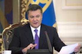 Ucrania: Orden de arrestro contra el presidente Yanukovych