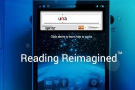 Spirtz:aplicación que ayudará a que leas un libro de mil páginas en una hora