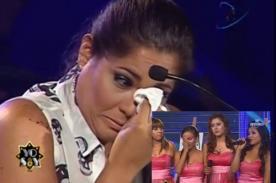 Yo Soy: Katia Palma llora tras eliminar a 'Corazón Serrano' - Video