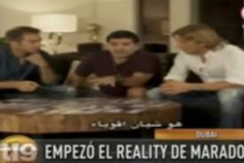 Reality de Diego Maradona ya se estrenó en Dubai - Video