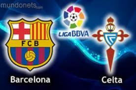 Liga BBVA: Barcelona vs Celta de Vigo (3-0) - Video de goles