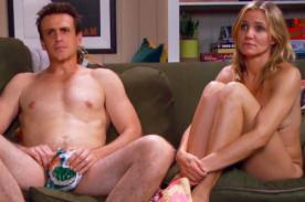 Mira el vídeo sexual que grabaron Cameron Díaz y Jason Segel