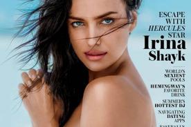 Irina Shayk hace topless en fotos playa para la revista MAXIM