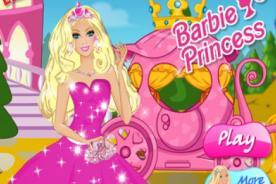Juegos Friv para vestir a Barbie: Vuelve una princesa a tu muñeca favorita