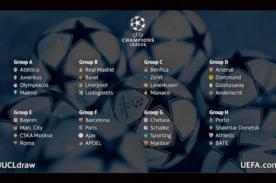 Champions League 2014-2015: Conoce cómo quedó la fase de grupos