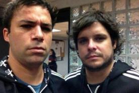 Twitter: ¡Renzo Shuller y Gian Piero Díaz ya están listos para su nuevo programa! - FOTO