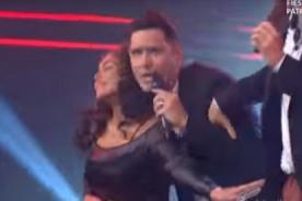 Vania Bludau puso como 'locos' a Cristian Rivero y Jesús Alzamora - VIDEO