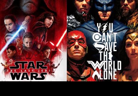 Los fans amaron más 'Justice League' que Star Wars: The Last Jedi