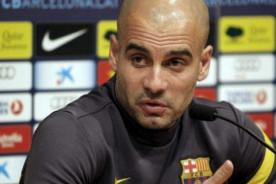 Pep Guardiola: Con Valencia será un partido para hombres de verdad