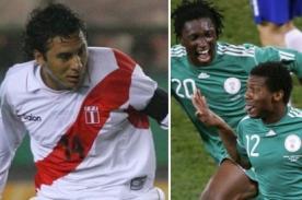 Fútbol peruano: Empresario confirma amistoso entre Perú y Nigeria
