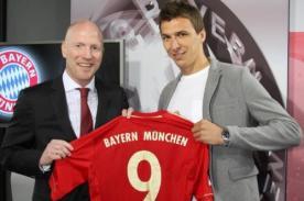 Bayern Munich: Mario Mandzukic es oficialmente el nueve del equipo