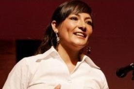 Magaly Solier luce pancita de cinco meses en Festival de Chiclayo