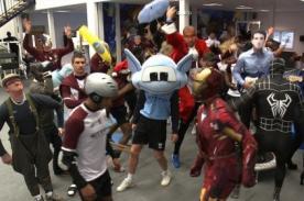 Video: Harlem Shake invade entrenamiento del Manchester City - Video