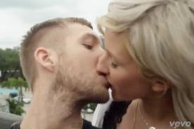 Calvin Harris y Ellie Goulding son pareja en video de 'I Need Your Love'