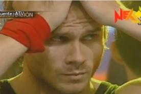 Combate: Miguel Arce es eliminado del reality entre lágrimas - Video