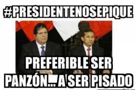 Ollanta Humala es víctima de memes y hashtag #PresidenteNoSePique