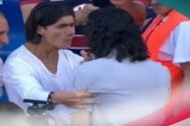 Video: Conmovedor gesto de Edinson Cavani hacia un hincha discapacitado