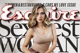 Scarlett Johansson nuevamente es nombrada la 'Mujer más Sexy' por Esquire