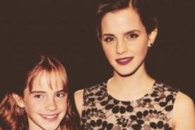¿Hermanas? Increíble foto de Emma Watson