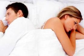 La falta de sueño afecta tu vida sexual