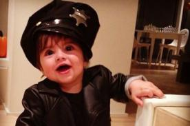 Shakira y Piqué disfrazaron a Milán como un tierno policía