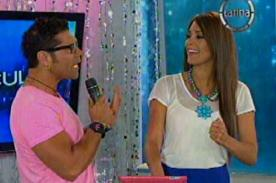 Video: 'Tomate' Barraza brinda su apoyo a Karen Schwarz por video sexual