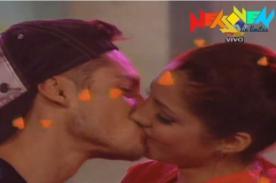 Combate: Nikko Ponce besó a Lesly Castillo en Hola a Todos (Video)
