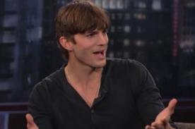Ashton Kutcher arremete contra Charlie Sheen por constantes molestias